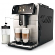 Espressor automat Philips Saeco Xelsis SM7683/00, 15 băuturi, Sistem Latteduo, Filtru AquaClean, Recipient pentru lapte 0.6 L, Negru/Inox