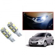 Auto Addict Car T10 9 SMD Headlight LED Bulb for Headlights Parking Light Number Plate Light Indicator Light For Hyundai i20