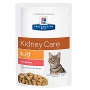 Hill´s Hills Prescription Diet Feline k/d salmon (bolsita)