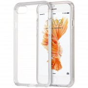 Funda Case Para IPhone 7 / IPhone 8 Transparente Con Bumper Reforzado-Transparente