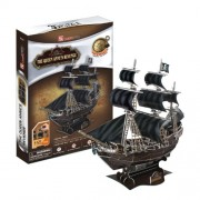 Queen Anne's Revenge 155 Piece 3D Jigsaw Puzzle Made by CubicFun 3D Puzzle