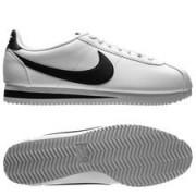 Nike Classic Cortez Leer - Wit/Zwart Vrouw