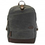 Licence 71195 College WaxC Backpack Bag Grey LBF10865-GY