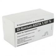 DELTAMEDICA GmbH DI NATRIUM EDTA Lösung 1,107% 10X10 ml