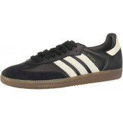 Adidas Samba OG FT Zapatillas para Hombre, Color Core Black/Raw White/Gold Metallic, 10.5