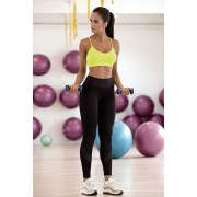 Pavla hosszú fitness leggings, fekete XL