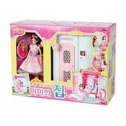 Mimi World Princess Mimi's House / Pink Princess Room / Mimi Cosmetics + Mimi Bed / Doll houses