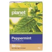 Organic Herbal Tea Bags - Peppermint x50