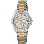 Casio Enticer Analog White Dial Womens Watch - LTP-2089SG-7AVDF (A1039)