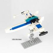 Generic GUDI Building Blocks Kids DIY Assemblage Blocks Boys Space Fighter Action Figure Toys for Children Playmobil Blocks 8606