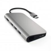 Satechi Redukce / adaptér - Satechi, USB-C Multi-Port Adapter Gray