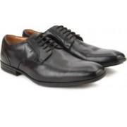 Clarks Derry Lace GTX Black Leather lace up For Men(Black)