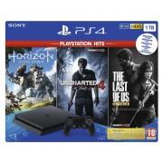 Consola PlayStation® PS4 Slim 1TB HITS V2 Bundle