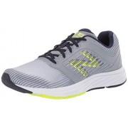 New Balance Men's 480v6 Running Shoe, steel/hi lite/pigment, 7 4E US