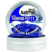 Crazy Aaron's Thinking Putty 1.6 Ounce Precious Gems Ceylon Sapphire