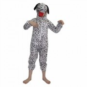 Kaku Fancy Dresses Dog Pet Animal Costume -Black White for Boys Girls