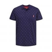 JACK & JONES Bedrucktes Poloshirt, Slim-Fit