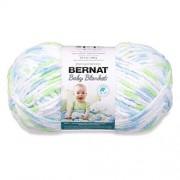 Bernat Baby Blanket Yarn (6) Super Bulky Gauge 10.5 oz Funny Prints Single Ball Machine Wash & Dry (16110404233)