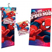 Marvel Spiderman Face polyester towel + lunch bag