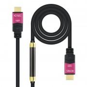 Nanocable Cabo HDMI V2.0 4K@60Hz 18Gbps com Repetidor Macho/Macho 25m Preto