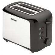Tefal TT356110 - Grille-pain - 2 tranche - 2 Emplacements - noir/inox