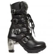 tocuri femei - Itali, Nomada, Trail Negro Taco - NEW ROCK - M.TR073-C1