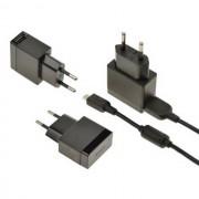Sony $$ Caricabatterie Originale Da Parete Per Casa Ep880 7.5w Cavo Ec801 Black Bulk Per Modelli A Marchio Ericsson