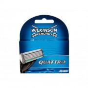 Wilkinson Sword Quattro резервни ножчета 4 бр за мъже