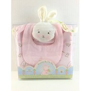 Bunnies by The Bay Sweet Bunny Bunsie Set, Pink