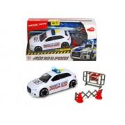 Masina de politie Audi RS3 cu lumini si sunete Dickie Toys 15 cm