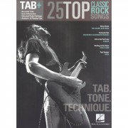 Hal Leonard Tab+: 25 Classic Rock Songs - Tab. Tone. Technique.