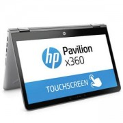 Лаптоп HP Pavilion x360 14-ba003nu Silver, Core i5-7200U(2.5Ghz/3MB) 14FHD UWVA BV IPS Touch, WebCam, 8GB 2133Mhz 1DIMM,2LE68EA