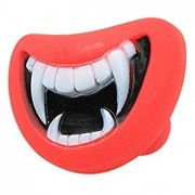 Generic Pet Dog Funny Teeth Silicon Toy Puppy Chewing Squeak Sound Red Lip Dogs Play Toys