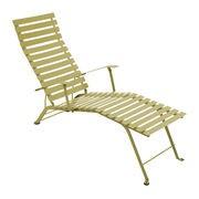 Fermob Chaise longue Bistro - Fermob tilleul en métal