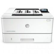 Лазерен принтер HP LaserJet Pro M402dne, монохромен, 1200x1200 dpi, 38 стр/мин, двустранен печат, LAN, USB, A4
