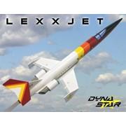 Dynastar Flying Model Rocket Kit LexxJet 5037