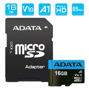 Cartão de Memória MicroSDHC Adata Premier UHS-I AUSDH16GUICL10A1-RA1 - 16GB