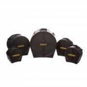 "Hardcase CaseSet ""Rock Fusion 4"", HD, HROCKFUS-4, 22/10/12/16FT/14SD"
