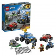 Конструктор LEGO City Police Погоня по грунтовой дороге 60172