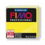Gyurma, 85 g, égethető, FIMO Professional, sárga