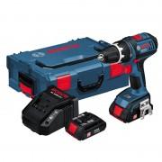 Винтоверт GSR 18 V-LI L, 60/23 Nm, 0-500 / 1.700 min-1, 18 V, 1,5 Ah, 1,6 kg, 060186610J, BOSCH