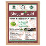 Natural Brown Henna Powder 100% Chemical Free (100 Gram 1 Packet) For Growth & Shining