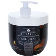 Leganza Hair Care máscara cremosa com queratina 1000 ml