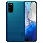 Nillkin Super Frosted Shield Samsung Galaxy S20 Hoesje - Blauw
