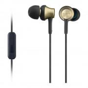 Sony MDR-EX650APT In-Ear Headphones - слушалки с микрофон за мобилни устройства (златист)