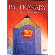 Pictionary: 20th Anniversary Edition by Milton Bradley