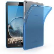 kwmobile Průhledné pouzdro pro Huawei MediaPad T3 8.0 - modrá