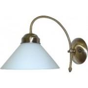 Fali lámpa 25cm bronz/fehér Marian 2701 Rábalux