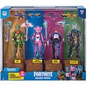 Set de joaca Fortnite Squad - 4 figurine si accesorii