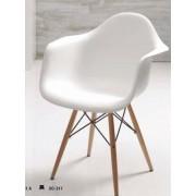 items-france LOS ANGELES - Lot de 4 chaises design 61x62x77,5/45